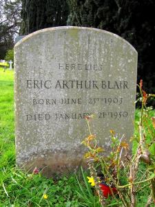 Blair gravestone